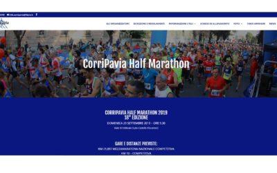 E' online il nuovo sito della Corripavia, vieni a scoprirlo!